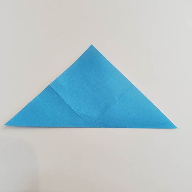 「朝顔(あさがお)のつぼみの折り紙 簡単な作り方折り方」(6)