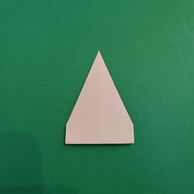 あかざの折り紙 体の作り方(8)