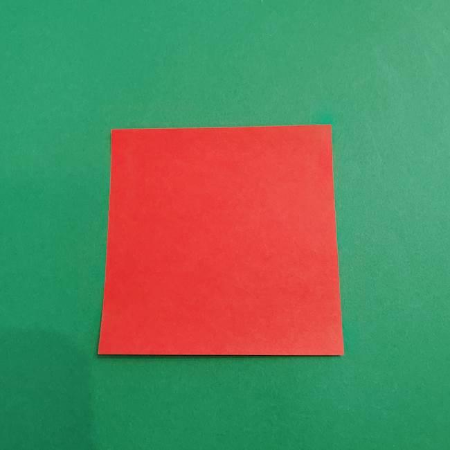 あかざ折り紙 羽織りの作り方(1)