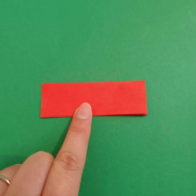 あかざ折り紙 羽織りの作り方(3)