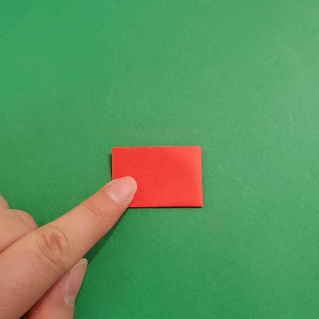 あかざ折り紙 羽織りの作り方(4)