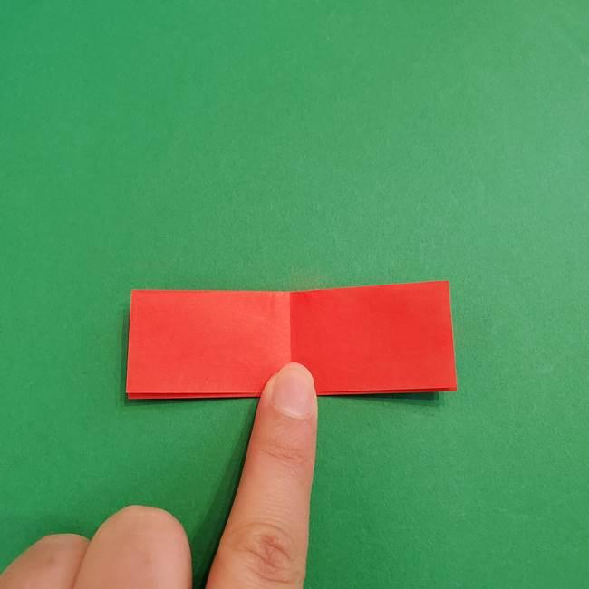 あかざ折り紙 羽織りの作り方(5)