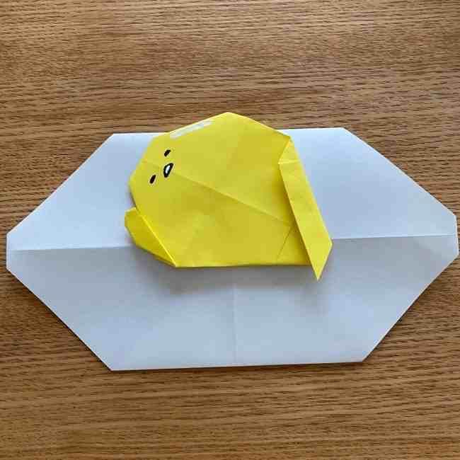 ぐでたまの折り紙|作り方は簡単!子供とつくった折り方を折り図つきで解説☆
