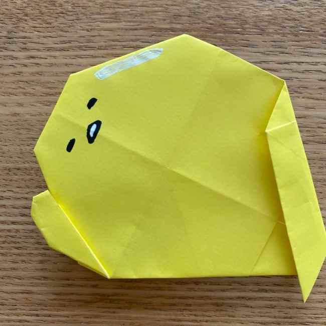 ぐでたま 折り紙の作り方折り方 (27)