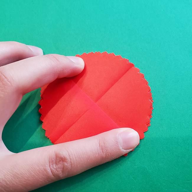 カーネーションの折り紙 本格的でリアルな花の作り方①花(12)