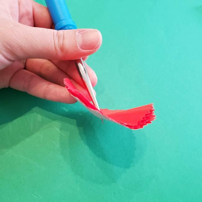 カーネーションの折り紙 本格的でリアルな花の作り方①花(15)