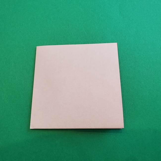 カーネーションの折り紙 本格的でリアルな花の作り方①花(3)