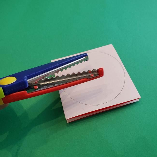 カーネーションの折り紙 本格的でリアルな花の作り方①花(6)