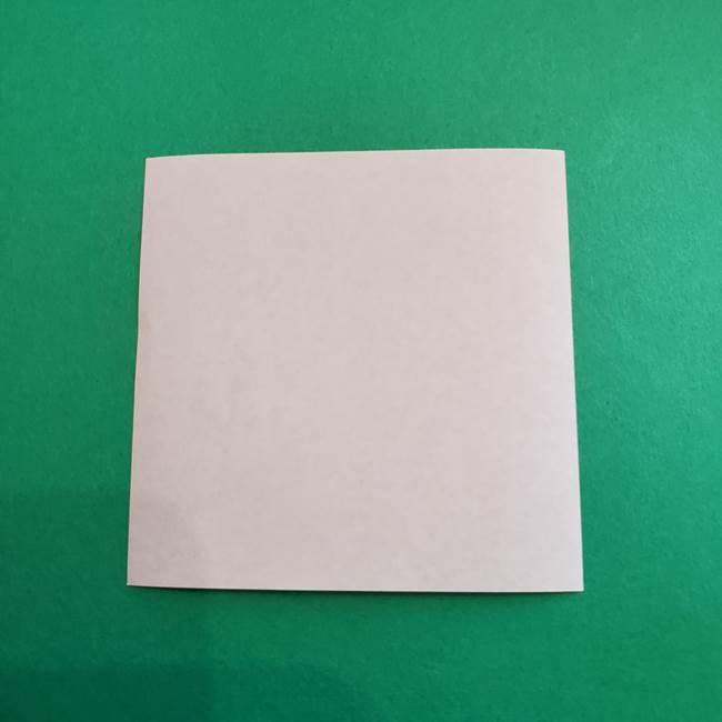 スイカと猫(ネコ)の折り紙は簡単♪③にゃんこ(13)