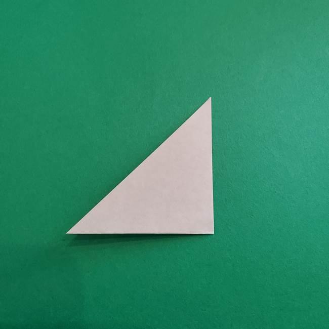 スイカと猫(ネコ)の折り紙は簡単♪③にゃんこ(15)