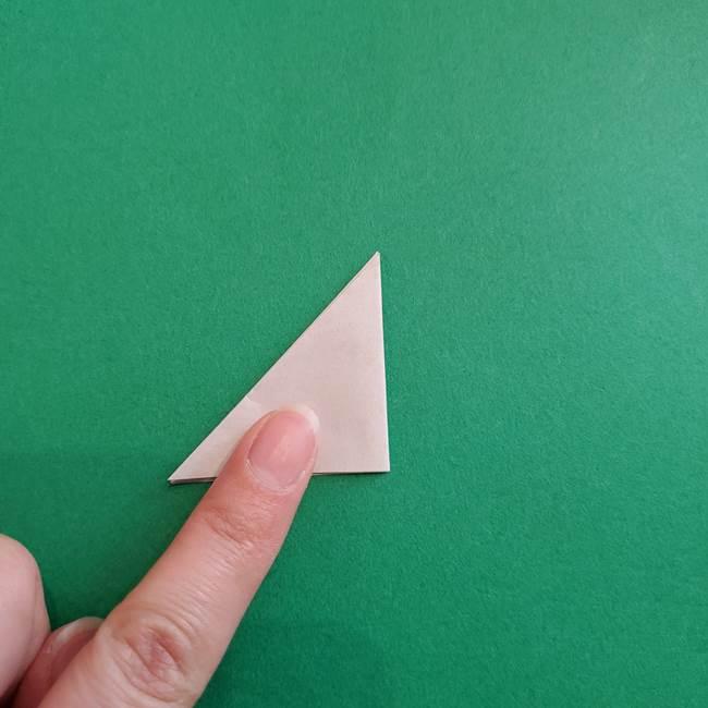 スイカと猫(ネコ)の折り紙は簡単♪③にゃんこ(16)