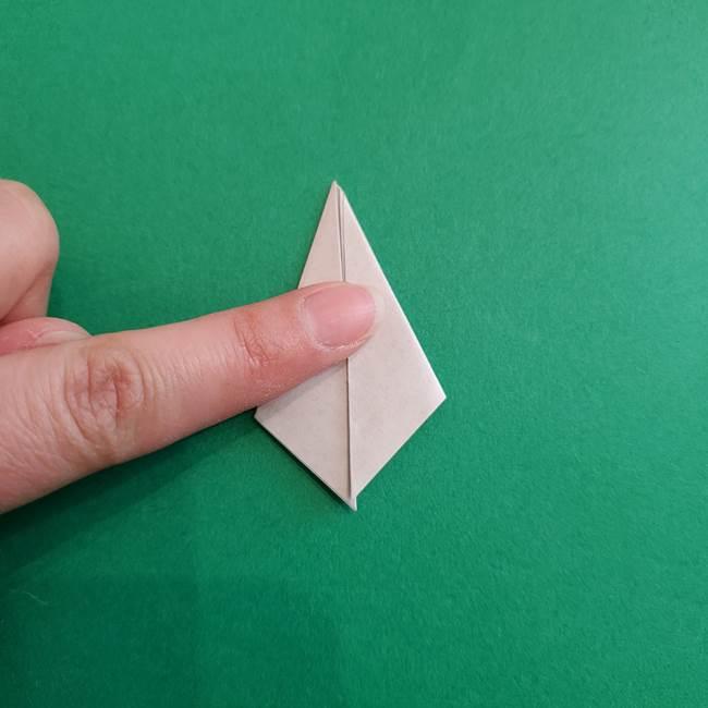 スイカと猫(ネコ)の折り紙は簡単♪③にゃんこ(18)