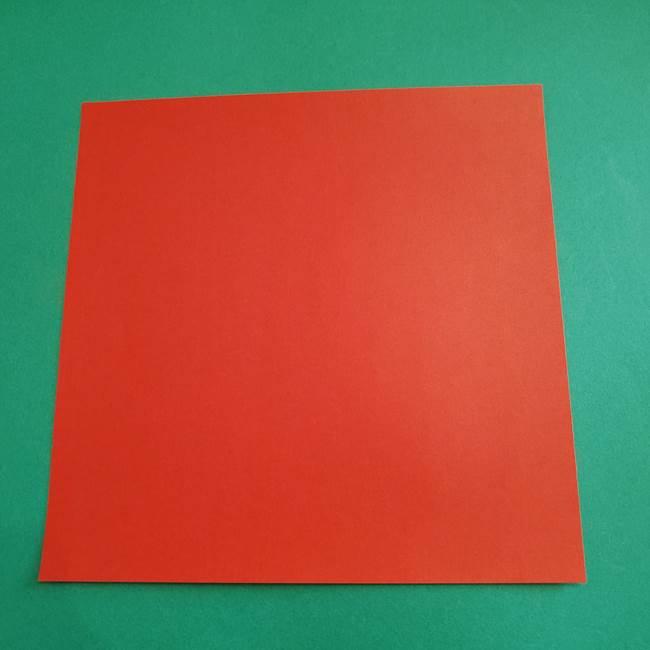 スイカの折り紙は簡単!1枚の材料でOK♪(1)