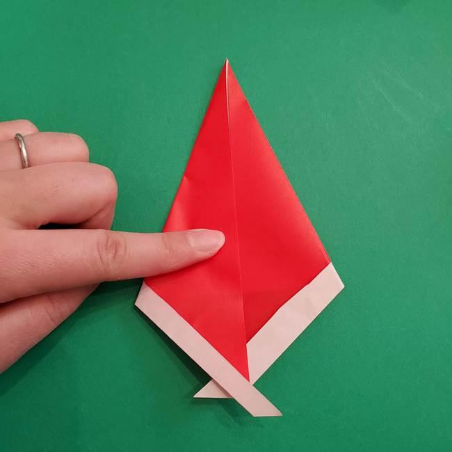 スイカの折り紙 3歳の年少の娘と一緒に手作り☆(7)