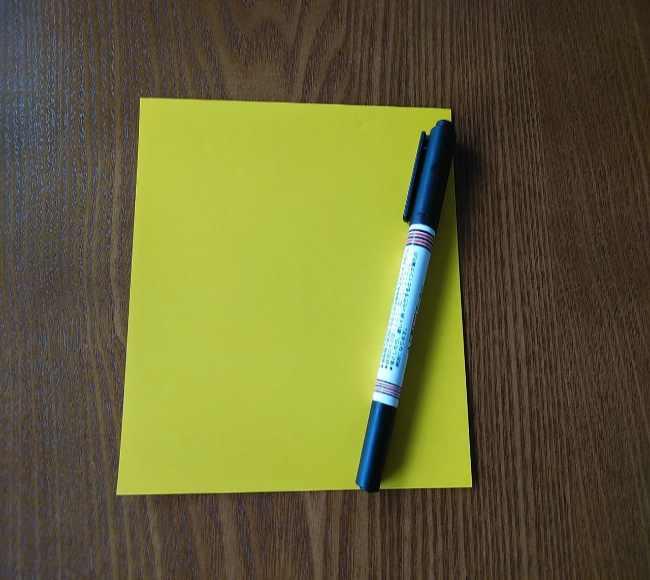 ポムポムプリンの折り紙*用意するもの