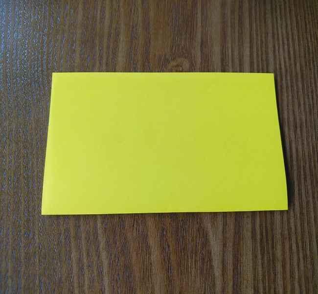 ポムポムプリンの折り紙 作り方折り方(わかりやすい折り図つき) (1)