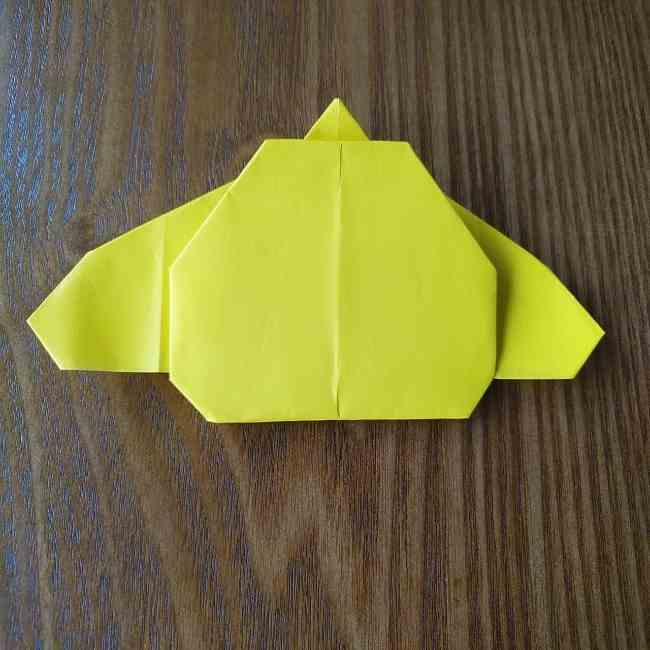 ポムポムプリンの折り紙 作り方折り方(わかりやすい折り図つき) (10)