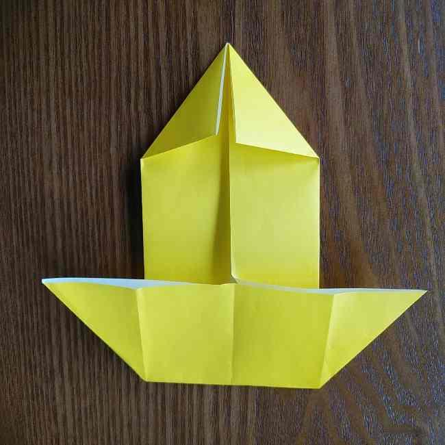 ポムポムプリンの折り紙 作り方折り方(わかりやすい折り図つき) (6)