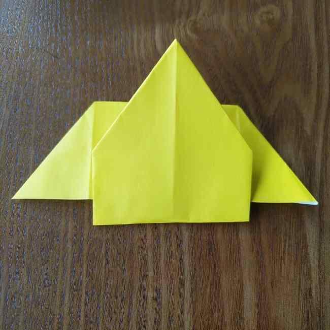 ポムポムプリンの折り紙 作り方折り方(わかりやすい折り図つき) (7)