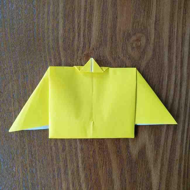 ポムポムプリンの折り紙 作り方折り方(わかりやすい折り図つき) (9)
