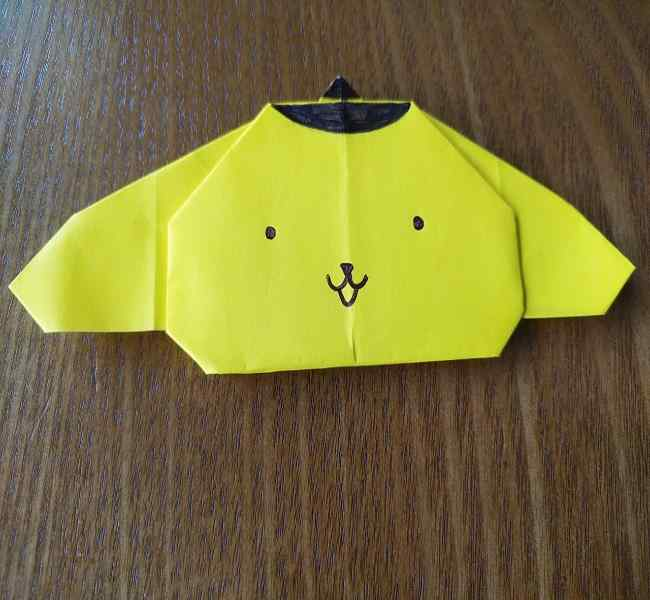 ポムポムプリン 折り紙の作り方は簡単♪折り方を折り図つきでわかりやすく紹介