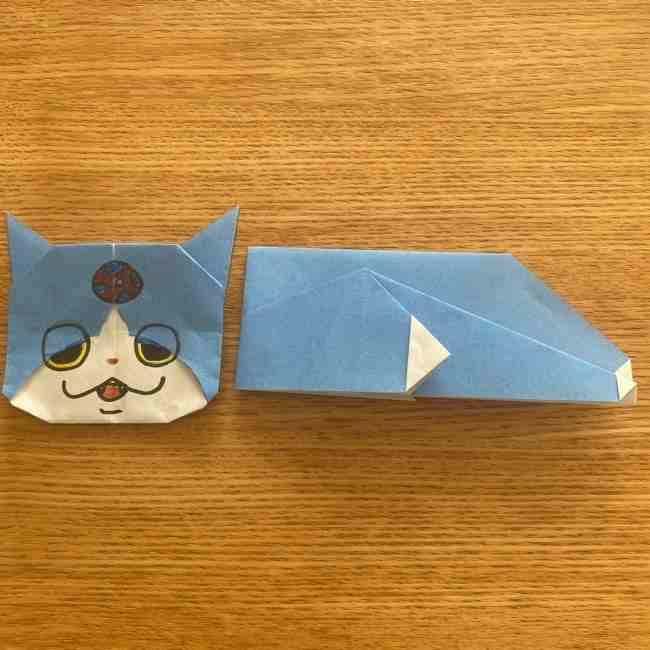 妖怪ウォッチの折り紙 デカニャンの折り方作り方