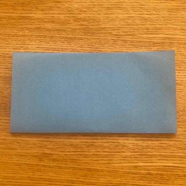 妖怪ウォッチの折り紙 デカニャンの折り方(顔)作り方 (2)