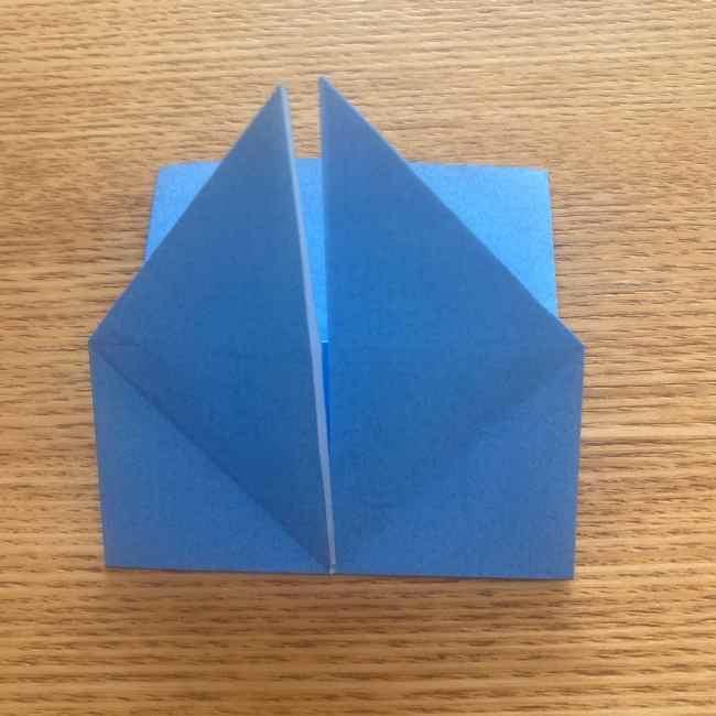 妖怪ウォッチの折り紙 デカニャンの折り方(顔)作り方 (20)