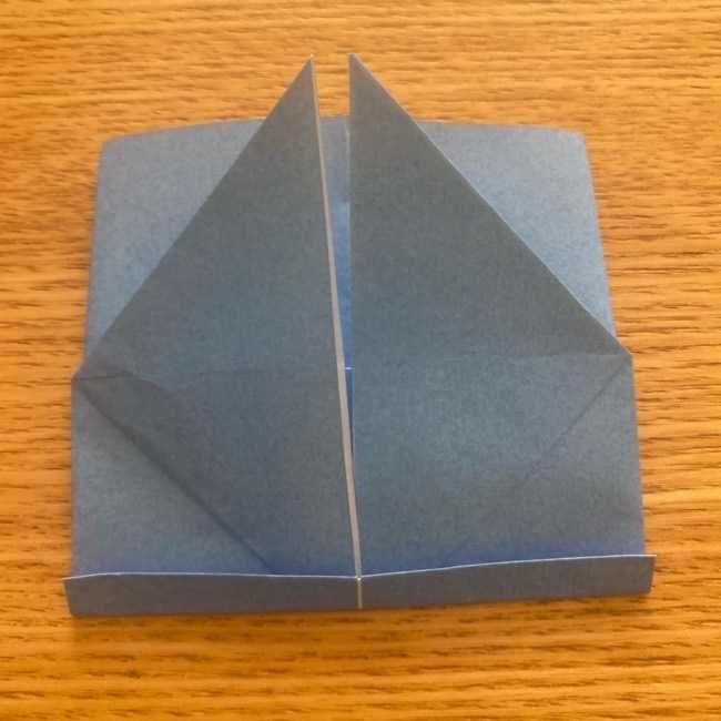 妖怪ウォッチの折り紙 デカニャンの折り方(顔)作り方 (21)