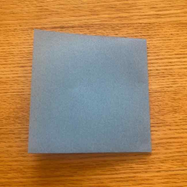 妖怪ウォッチの折り紙 デカニャンの折り方(顔)作り方 (3)