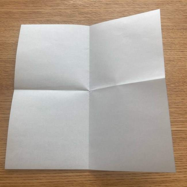 妖怪ウォッチの折り紙 デカニャンの折り方(顔)作り方 (4)
