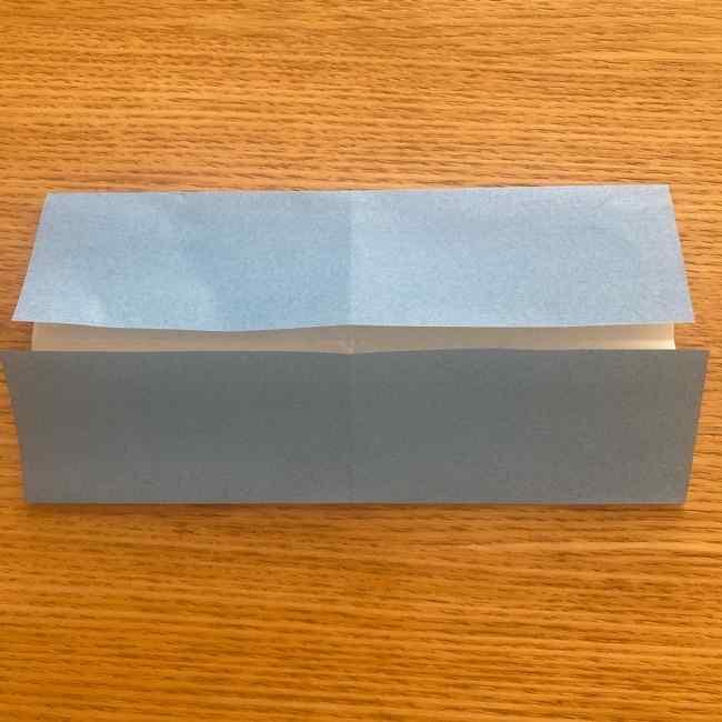 妖怪ウォッチの折り紙 デカニャンの折り方(顔)作り方 (5)
