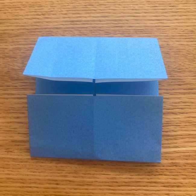 妖怪ウォッチの折り紙 デカニャンの折り方(顔)作り方 (6)