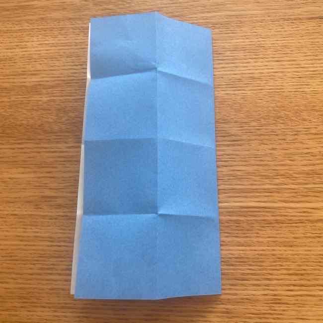 妖怪ウォッチの折り紙 デカニャンの折り方(顔)作り方 (8)