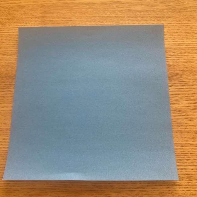 妖怪ウォッチの折り紙 デカニャン(体)の折り方作り方 (1)