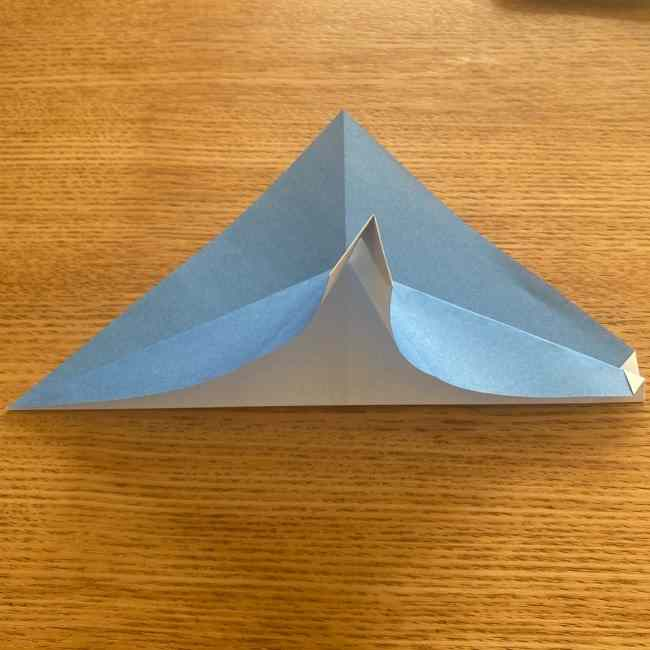 妖怪ウォッチの折り紙 デカニャン(体)の折り方作り方 (11)