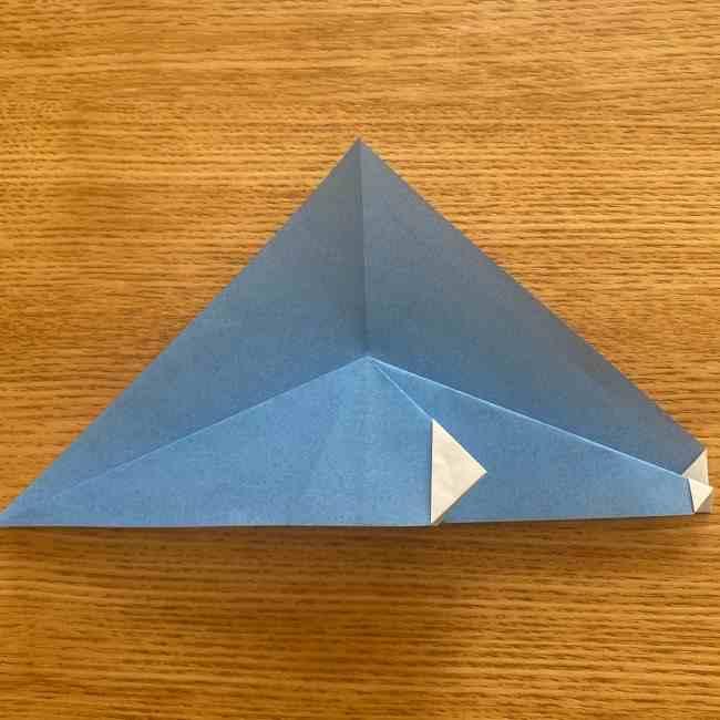 妖怪ウォッチの折り紙 デカニャン(体)の折り方作り方 (12)