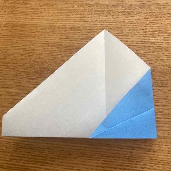 妖怪ウォッチの折り紙 デカニャン(体)の折り方作り方 (14)