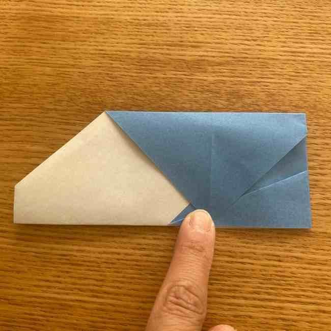 妖怪ウォッチの折り紙 デカニャン(体)の折り方作り方 (15)
