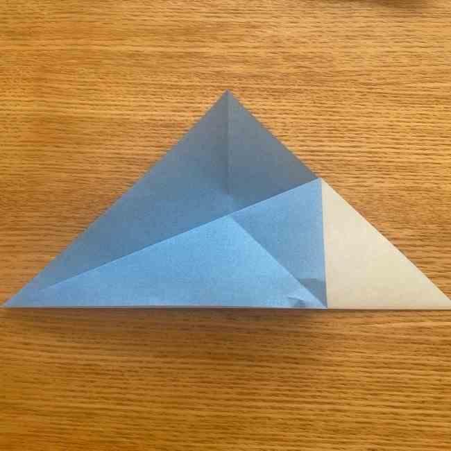 妖怪ウォッチの折り紙 デカニャン(体)の折り方作り方 (5)