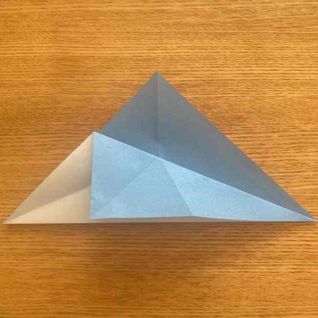 妖怪ウォッチの折り紙 デカニャン(体)の折り方作り方 (7)