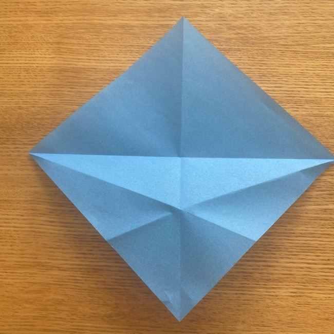 妖怪ウォッチの折り紙 デカニャン(体)の折り方作り方 (8)