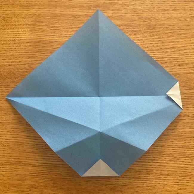 妖怪ウォッチの折り紙 デカニャン(体)の折り方作り方 (9)