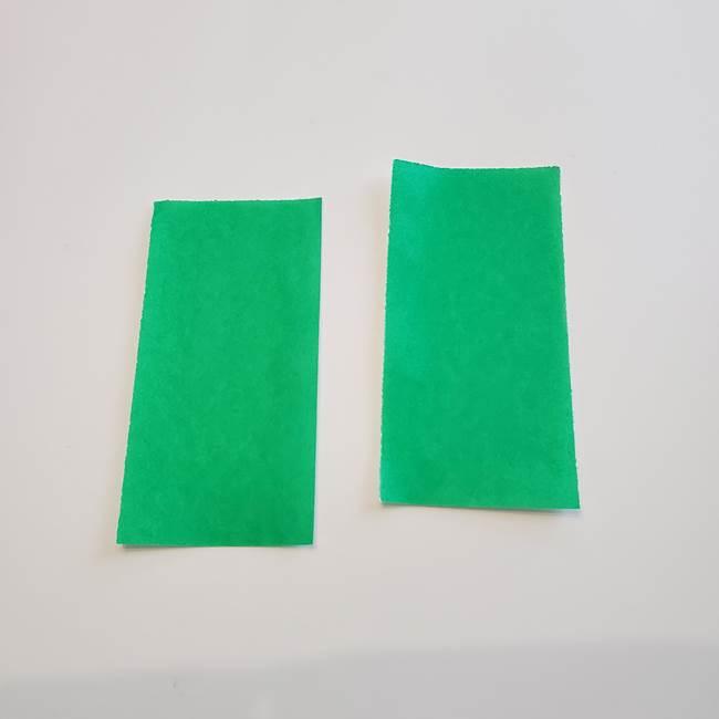 折り紙「カーネーションの葉っぱ」の折り方作り方①葉っぱ(4)