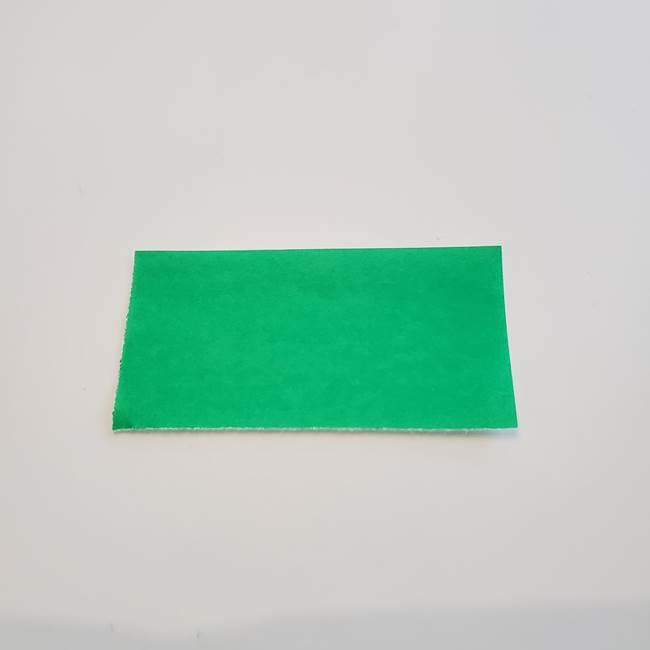 折り紙「カーネーションの葉っぱ」の折り方作り方①葉っぱ(5)