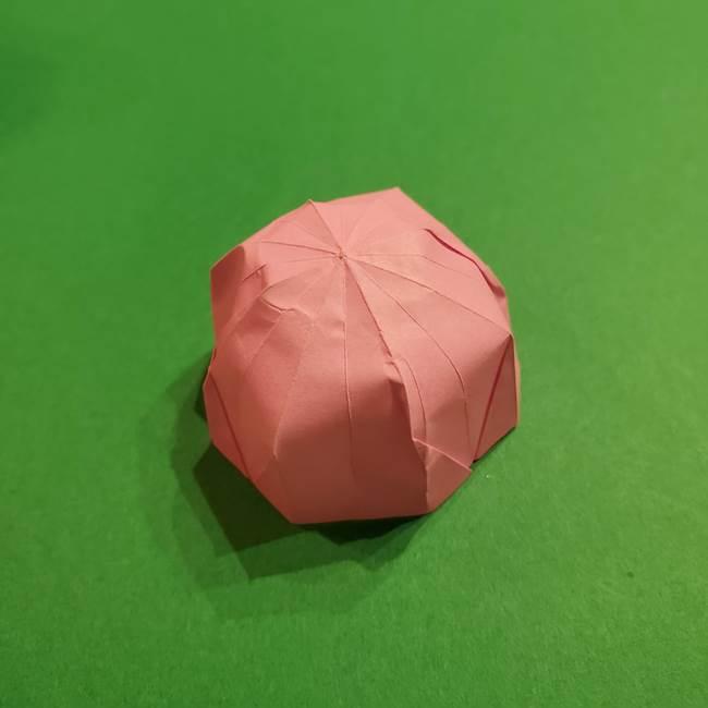 折り紙おもちゃ アイスクリーム カップの作り方折り方①アイス(2)