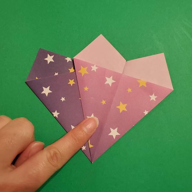 折り紙おもちゃ アイスクリーム カップの作り方折り方②カップ(11)