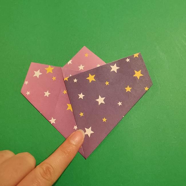 折り紙おもちゃ アイスクリーム カップの作り方折り方②カップ(12)