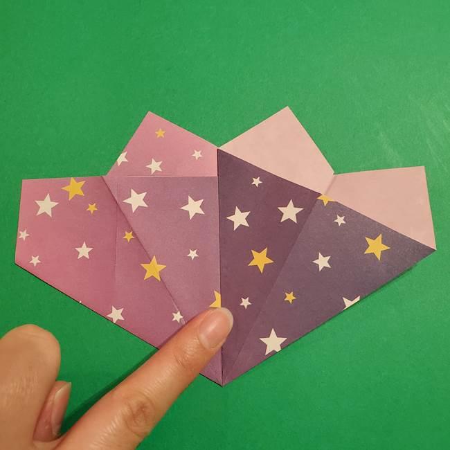 折り紙おもちゃ アイスクリーム カップの作り方折り方②カップ(13)