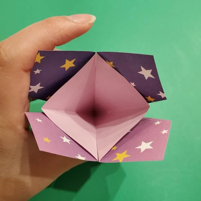 折り紙おもちゃ アイスクリーム カップの作り方折り方②カップ(20)